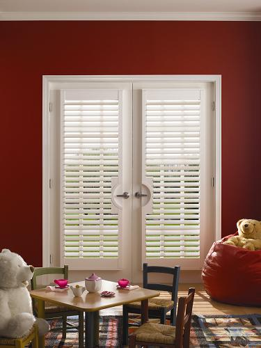Faux Wood Plantation Shutters and Window Shutters in Houston, TX