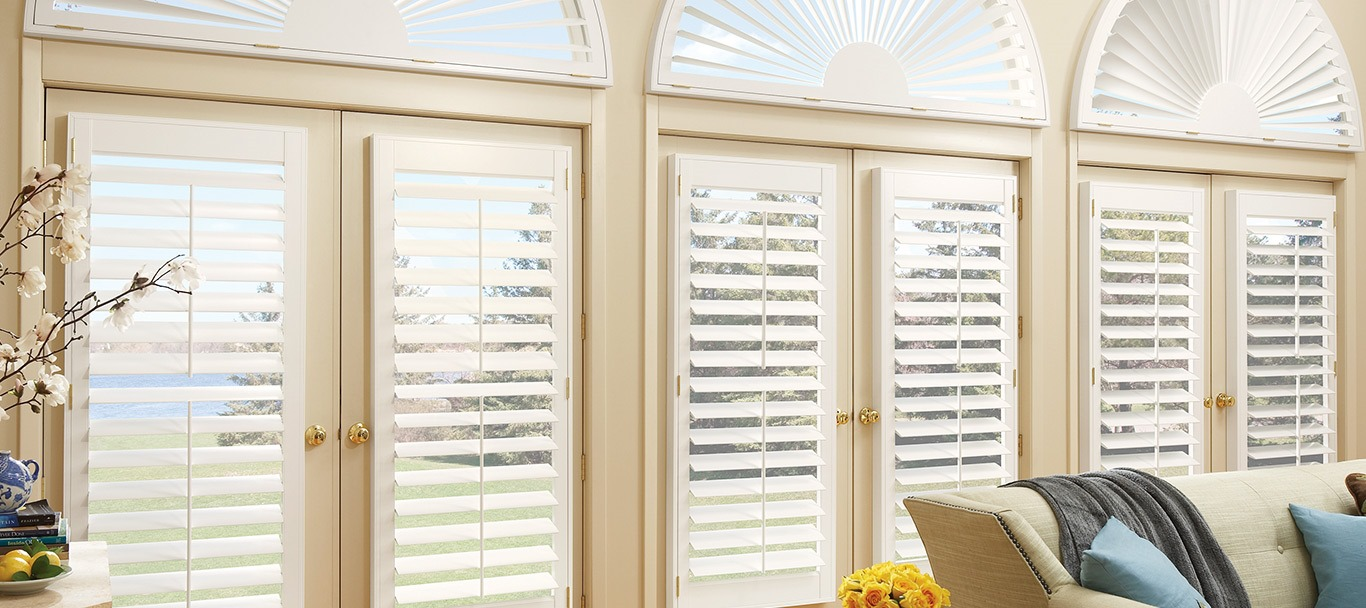houston shutters-stained wood